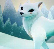 Snow Wolf Sticker