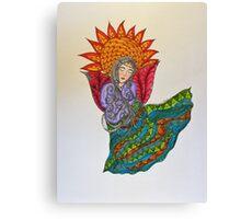 S-Angel/2 - Sunflower Canvas Print