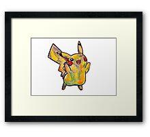 Cute Pikachu Tshirts + More! Framed Print