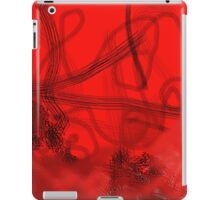 Fire Engine Red iPad Case/Skin