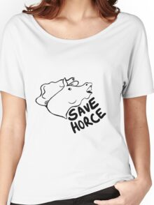 Save Horce  Women's Relaxed Fit T-Shirt
