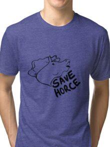 Save Horce  Tri-blend T-Shirt