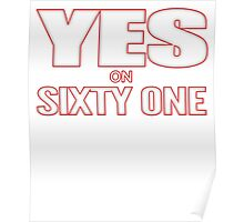 Yes on California Proposition 61 Poster