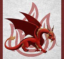 dragon zuko by carlson123