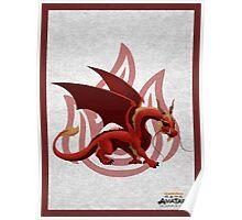 dragon zuko Poster