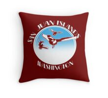 San Juan Islands, Washington Throw Pillow