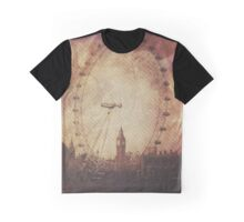 Big Ben in the Eye of London Graphic T-Shirt
