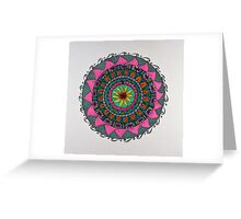 Mandala/3 - Bright Greeting Card
