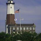 Montauk Lighthouse by Gilda Axelrod