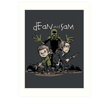 Dean and Sam Art Print