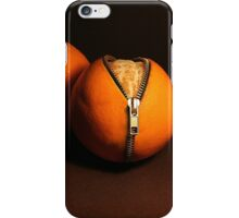 Zipped oranges iPhone Case/Skin