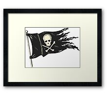 Pirate Flag for your Pirating Needs. Framed Print