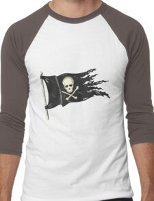 Pirate Flag for your Pirating Needs. Men's Baseball ¾ T-Shirt
