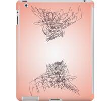 Peach Ravens iPad Case/Skin