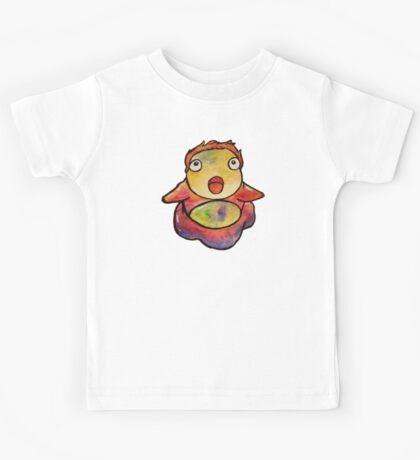 Cute Ponyo! Studio Ghibli Kids Tee
