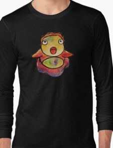 Cute Ponyo! Studio Ghibli Long Sleeve T-Shirt