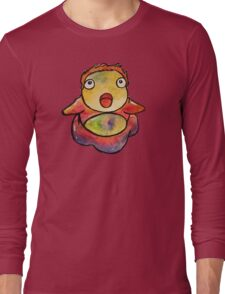 Cute Ponyo! Studio Ghibli Long Sleeve T-Shirt