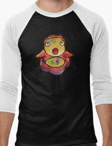 Cute Ponyo! Studio Ghibli Men's Baseball ¾ T-Shirt