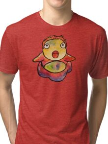 Cute Ponyo! Studio Ghibli Tri-blend T-Shirt