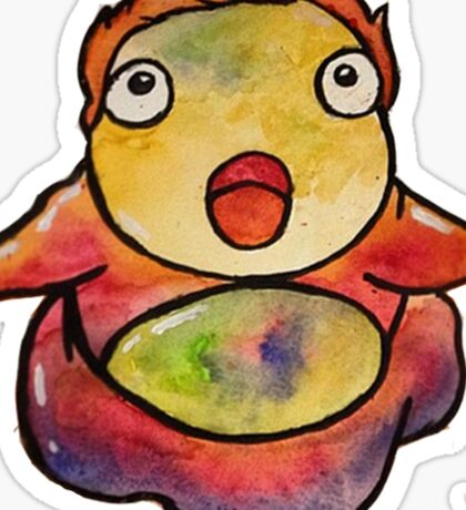 Cute Ponyo! Studio Ghibli Sticker