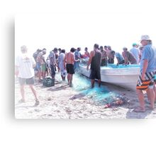 selling the daily catch Metal Print