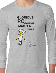 Glorious PC gaming master race Long Sleeve T-Shirt