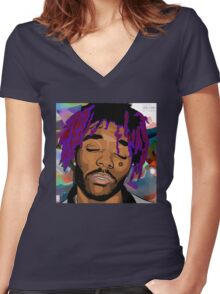 Lil Uzi Vert Women's Fitted V-Neck T-Shirt