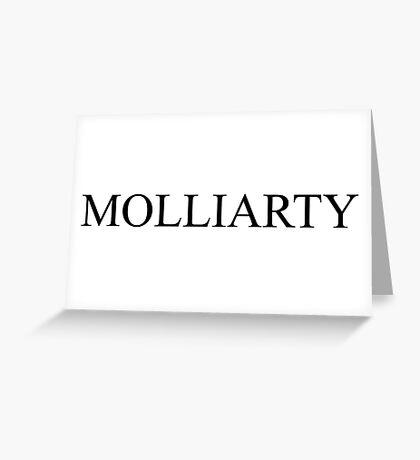Molliarty -- Sherlock Greeting Card