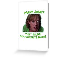 Shaggy and Mary Jane Greeting Card
