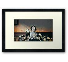 Japanese Dolls - Color Framed Print