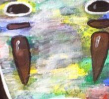 Spirited Away No Face! Kaonashi Sticker