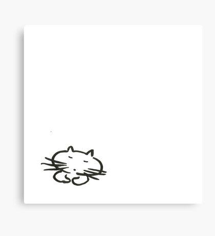 Sleeping.... Canvas Print
