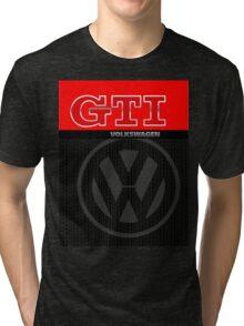 Volkswagen GTI Graphic Design Tri-blend T-Shirt