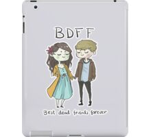 Best Dead Friends Forever iPad Case/Skin