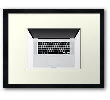 "MacBook Pro 15"" - Iconic Gear Framed Print"
