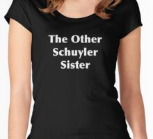 The Other Schuyler Sister Women's Fitted Scoop T-Shirt