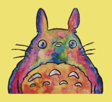 Cute Colorful Totoro! Tshirts + more! Kids Clothes