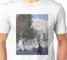 Athens street scene Unisex T-Shirt