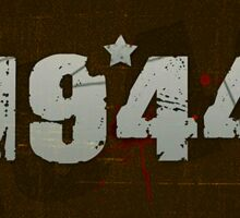 1944 Army Design Sticker