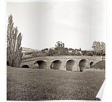 Richmond Bridge—Black and White Poster