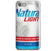 Natty Light Can iPhone Case/Skin