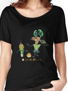 Reindeer and friend Women's Relaxed Fit T-Shirt