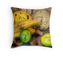 Melon the rampage Throw Pillow