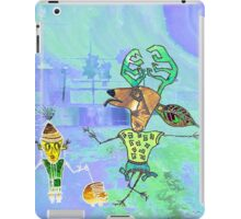 Reindeer and friend iPad Case/Skin