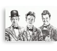 The Funny Faces of Stan Laurel Metal Print