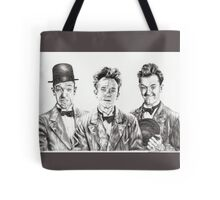 The Funny Faces of Stan Laurel Tote Bag