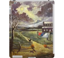 Mystery of the October Moon iPad Case/Skin