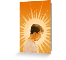 Golden Son Greeting Card