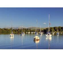 Yachts At Ferry Nab Photographic Print