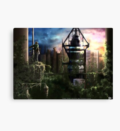 No man's land Canvas Print